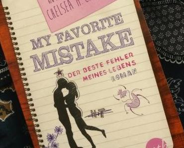 [Books] My favorite Mistake - Der beste Fehler meines Lebens von Chelsea M. Cameron