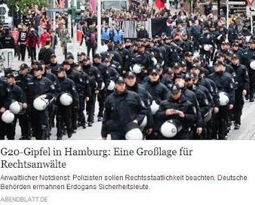 Linker Anwaltsverein mahnt Polizei: Es gibt ein Grundrecht auf linke Gewalt und Zerstörungswut