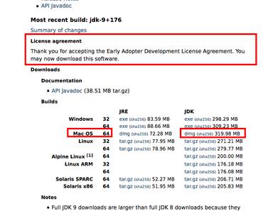 Java 9 (jdk-9+176) auf Mac OS X in 10 Minuten installieren
