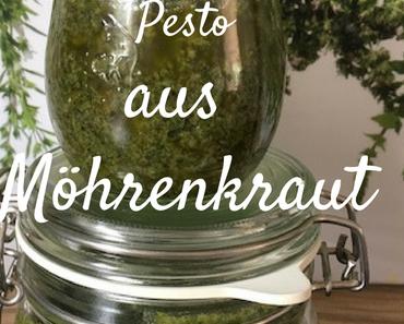 Pesto vom Möhrenkraut- vegetarisch & vegan