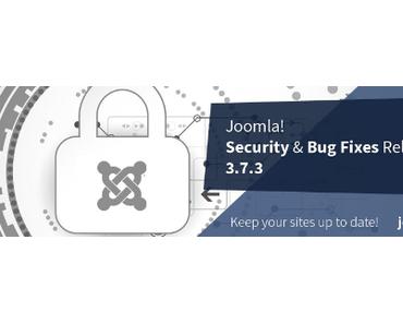 CMS Joomla bringt Sicherheitsupdate 3.7.3