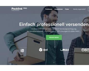 Packlink Pro – Versandvergleichs- und Versendungsportal