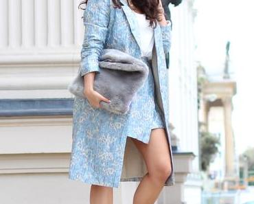 Berlin Fashion Week Look I // Matching Coat and Skirt