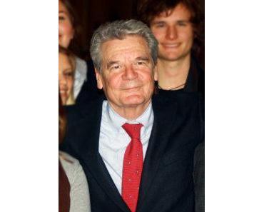 Joachim Gauck Steckbrief