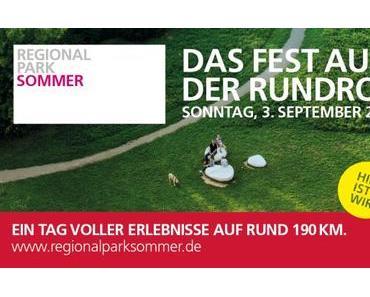 Standorte Regionalpark RheinMain Rundroutenfest 03.09.2017