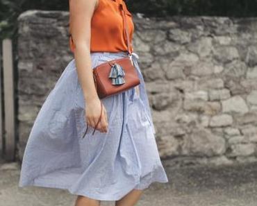 Sommer Outfit mit Superga Sneakers und Stella McCartney Sonnenbrille