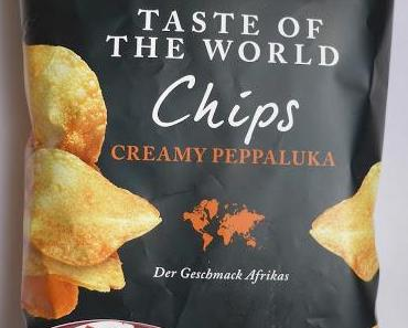 LIDL - Crusti Croc Taste of the World Chips Creamy Peppaluka