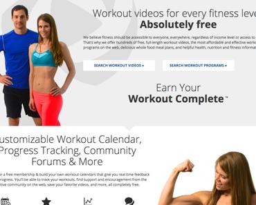Best free workout page online: Fitnessblender.com