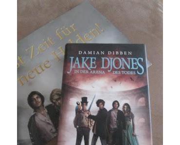 KW28/2017 - Buchverlosung der Woche - Jake Djones in der Arena des Todes von Damian Dibben