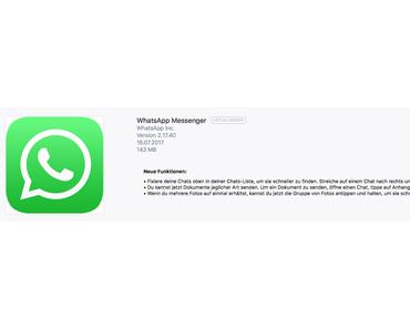 Neue Version von WhatsApp Messager 2.17.40 mit 101 MB veröffentlicht