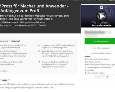 Review: WordPress für Macher und Anwender - vom Anfänger zum Profi