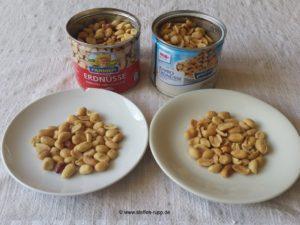 Erdnüsse: Aldi gegen Real
