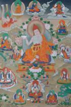 Acht Wissenshalter (Vidyadhara)