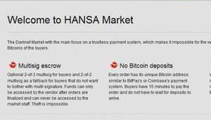 Darknet-Shop HansaMarket auch geschlossen