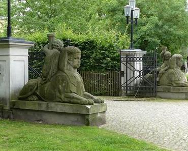 Spaziergang durch Schloß Steinhöfel