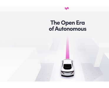 Lyft entwickelt nun doch eigene autonome Autos