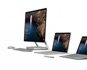 Werfen Sie einen Blick auf die Surface-Produktfamilie