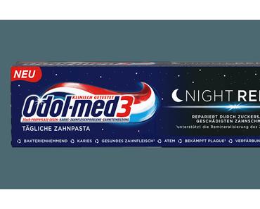 odol med 3 Night Repair Zahncreme