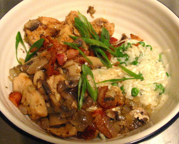 Rezept: Leichtes Hähnchencurry mit Reis
