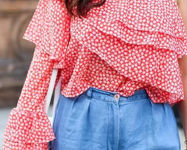 One Shoulder Blouse Outfit