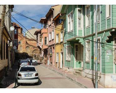 Istanbul Spaziergang - Von der Galatabrücke zum Valens Aquädukt - 2. Teil