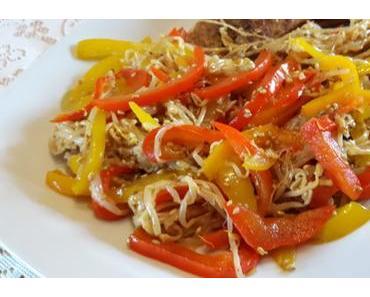 Low Carb Salat Mungobohnenkeimlinge