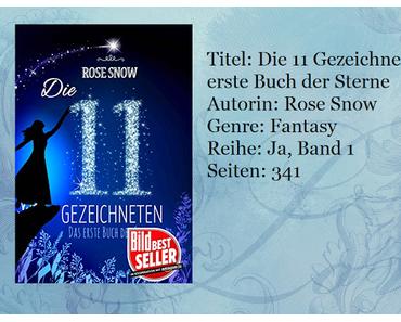 [Rezension] Die 11 Gezeichneten - Das erste Buch der Sterne von Rose Snow