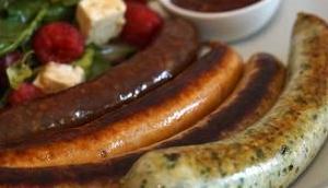 GRILLIDO Wurst-Revolution fettreduzierte Grill- Sportwürste viel Eiweiß, wenig Fett