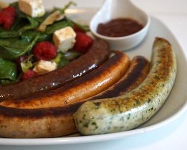 GRILLIDO – Die Wurst-Revolution - + + + fettreduzierte Grill- und Sportwürste ++ viel Eiweiß, wenig Fett + + +