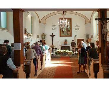 Kräuterbüscherl binden & Kräuterweihe – Maria Himmelfahrt