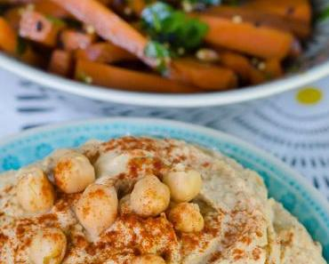 Wie kocht man eigentlich Kichererbsen? …. und ein Grundrezept für orientalischen Hummus mit Karotten-Sesam-Sticks