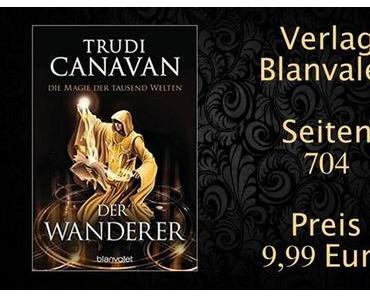 Rezension | Der Wanderer - Magie der tausend Welten Reihe von Trudi Canavan