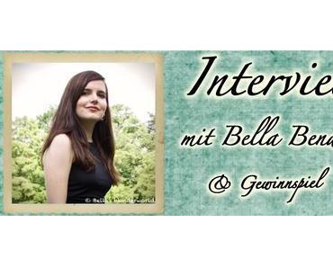 """Interview mit Bella Bender + Gewinnspiel """"Tinte in Wasser"""""""