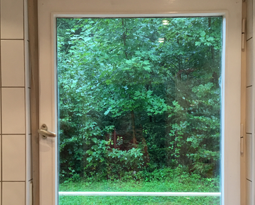 Nach dem Regen die Sonne - jeder Tag wird genutzt