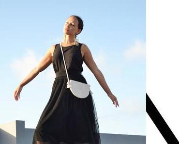 Halbmond-Tasche nähen mit Schnittmuster / Handtasche aus Kork
