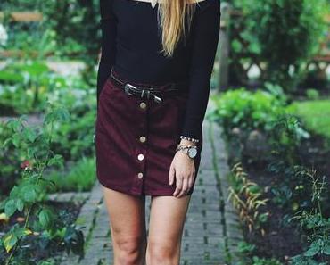 OOTD: Body + High-Waisted Skirt