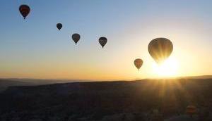 Reisefoto Woche: Heißluftballon Kappadokien