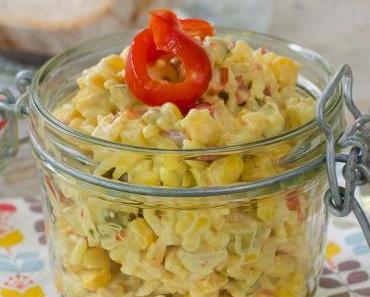 Wie bei Mama: Hähnchen-Reis-Salat mit Curry und Mayo