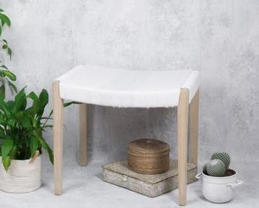 Upcycling Möbel: So lässt sich ein Hocker aufarbeiten