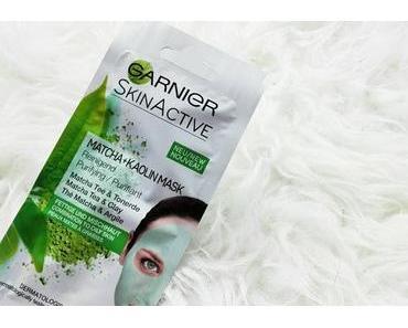 Review: Ganier Skin Active Matcha + Kaolin Mask - Tonerde Maske für fettige Haut und Mischhaut