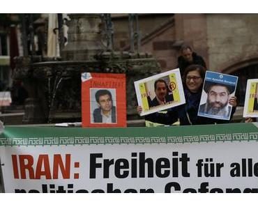 Menschenrechte im Iran - Demonstrationszug in Hannover: Vom Kröpke zur Staatskanzlei.