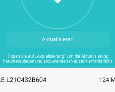 Update ALE-L21C432B604 für das Huawei P8lite