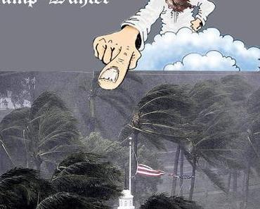 Gott und Irma. Gott und Brexit. Gott und Myanmar. Gott und die Deutschen und so weiter und so weiter