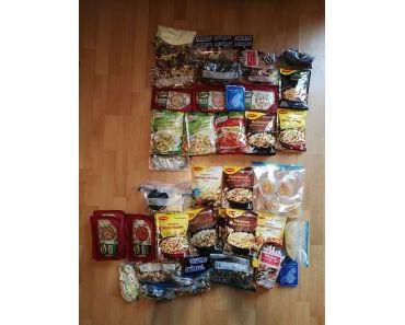 Packliste Lebensmittel September 2017