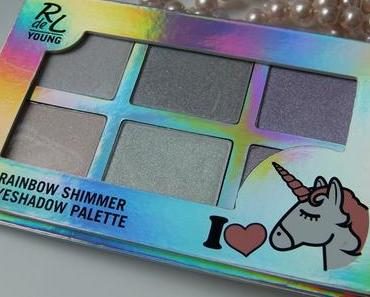 [Dupe] RdeL Young I ♥ Unicorns Rainbow Shimmer Eyeshadow Palette vs. Anastasia Beverly Hills Moon Child Glow Kit – Highlighter