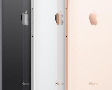 Apple präsentiert iPhone 8 und iPhone 8 Plus mit Glas-Gehäusen und A11-Prozessor