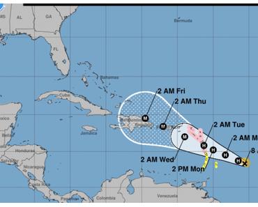 Nächster Hurrikan-Alarm: Folgt Wirbelsturm Maria Irmas Kurs?