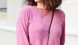Pink Ruffled Jumper Advertisement