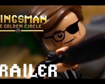 Lego Trailer zur Agenten-Actionkomödie KINGSMAN – THE GOLDEN CIRCLE