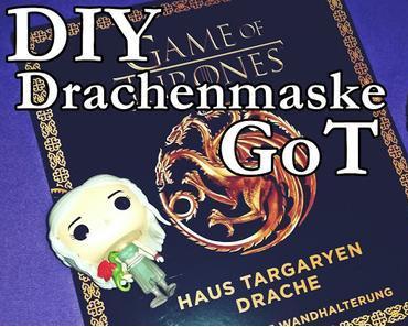 [Rezension] Game of Thrones- Haus Targaryen - 3D Maske mit Wandhalterung